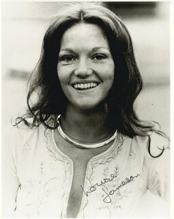 LOUISE JAMESON - AUTOGRAPHED SIGNED PHOTOGRAPH