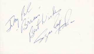 SUGAR RAY ROBINSON - AUTOGRAPH NOTE SIGNED