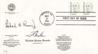 Autographs: PRESIDENT JAMES E. JIMMY CARTER - FIRST DAY COVER SIGNED