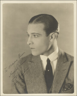 RUDOLPH THE SHEIK VALENTINO - AUTOGRAPHED INSCRIBED PHOTOGRAPH