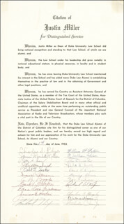 PRESIDENT RICHARD M. NIXON - DOCUMENT SIGNED 06/01/1952