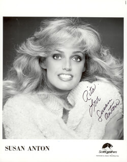 SUSAN ANTON - AUTOGRAPHED INSCRIBED PHOTOGRAPH