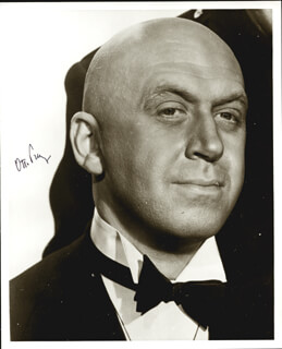 OTTO PREMINGER - AUTOGRAPHED SIGNED PHOTOGRAPH