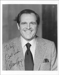 ALAN KING - AUTOGRAPHED INSCRIBED PHOTOGRAPH