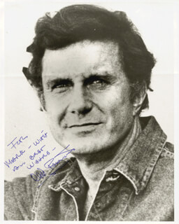 CLIFF ROBERTSON - AUTOGRAPHED INSCRIBED PHOTOGRAPH