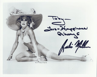 JULIA MILLER - AUTOGRAPHED INSCRIBED PHOTOGRAPH