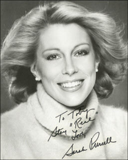SARAH PURCELL - AUTOGRAPHED INSCRIBED PHOTOGRAPH
