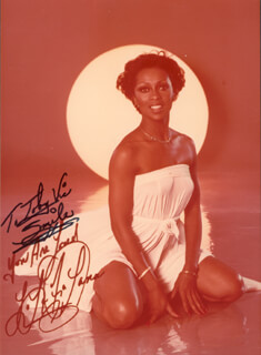 LOLA FALANA - INSCRIBED PHOTOGRAPH UNSIGNED
