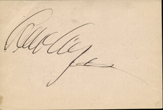 Autographs: LEW AYRES - SIGNATURE(S) CO-SIGNED BY: ALICE WHITE