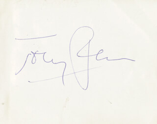 ANTHONY PERKINS - AUTOGRAPH