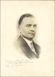 J. EDGAR HOOVER - AUTOGRAPHED INSCRIBED PHOTOGRAPH 01/14/1937  - HFSID 43061