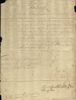 KING CHARLES II (GREAT BRITAIN) - MANUSCRIPT DOCUMENT SIGNED 03/22/1676 CO-SIGNED BY: THOMAS FIRST EARL OF DANBY OSBORNE