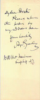 Autographs: MAJOR GENERAL ADOLPHUS W. GREELY - AUTOGRAPH NOTE SIGNED