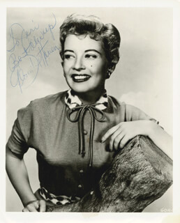 GLORIA DEHAVEN - AUTOGRAPHED INSCRIBED PHOTOGRAPH
