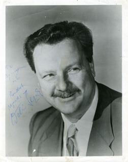 WALTER SLEZAK - AUTOGRAPHED INSCRIBED PHOTOGRAPH