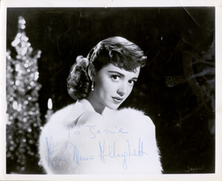 ANNA MARIA ALBERGHETTI - AUTOGRAPHED INSCRIBED PHOTOGRAPH  - HFSID 43314