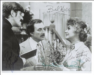 MAUDE TV CAST - AUTOGRAPHED SIGNED PHOTOGRAPH CO-SIGNED BY: PAUL BENEDICT, BEATRICE BEA ARTHUR, BILL MACY