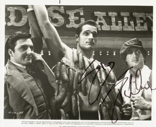 SYLVESTER STALLONE - PRINTED PHOTOGRAPH SIGNED IN INK