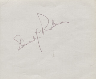 EDWARD G. ROBINSON - AUTOGRAPH CO-SIGNED BY: DANNY KAYE