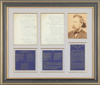 JAMES M. DALZELL - AUTOGRAPH POEM SIGNED 07/04/1920