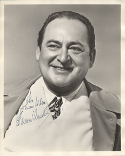 Autographs: EDWARD ARNOLD - INSCRIBED PHOTOGRAPH SIGNED