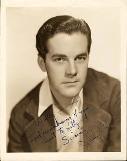 JOHNNY DOWNS - AUTOGRAPHED INSCRIBED PHOTOGRAPH 1935