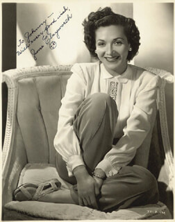 JUNE CLAYWORTH - AUTOGRAPHED INSCRIBED PHOTOGRAPH