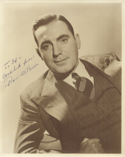 PAT O'BRIEN - AUTOGRAPHED INSCRIBED PHOTOGRAPH CIRCA 1940