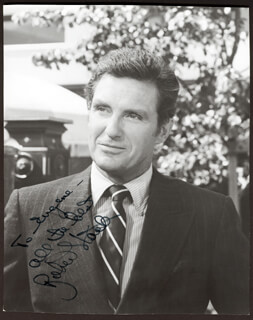 ROBERT STACK - AUTOGRAPHED INSCRIBED PHOTOGRAPH