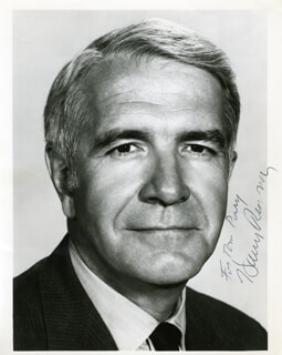 HARRY REASONER - AUTOGRAPHED INSCRIBED PHOTOGRAPH