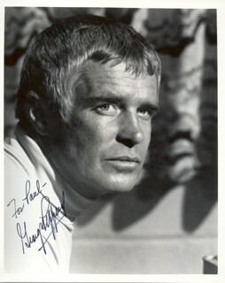 GEORGE PEPPARD - AUTOGRAPHED INSCRIBED PHOTOGRAPH