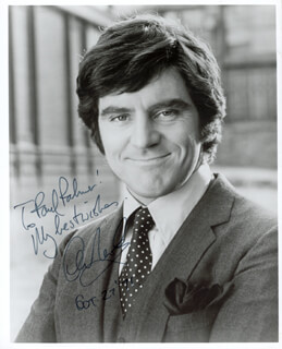 ANTHONY NEWLEY - AUTOGRAPHED INSCRIBED PHOTOGRAPH 10/27/1971