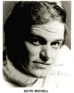 KEITH MICHELL - AUTOGRAPHED SIGNED PHOTOGRAPH