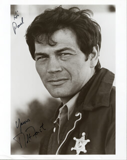 ROBERT FORSTER - AUTOGRAPHED INSCRIBED PHOTOGRAPH