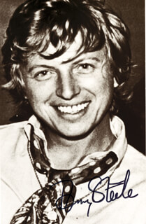 TOMMY STEELE - AUTOGRAPHED SIGNED PHOTOGRAPH