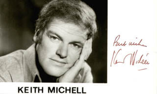 KEITH MICHELL - AUTOGRAPHED SIGNED PHOTOGRAPH CIRCA 1973