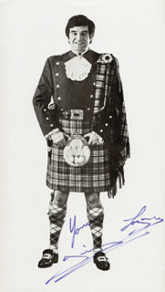 JIMMY LOGAN - AUTOGRAPHED SIGNED PHOTOGRAPH