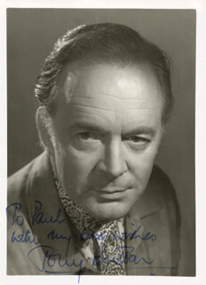 TONY BRITTON - AUTOGRAPHED INSCRIBED PHOTOGRAPH
