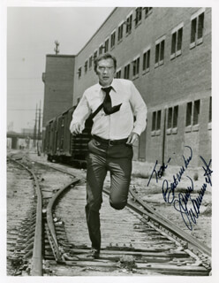 JAMES WAINWRIGHT - AUTOGRAPHED INSCRIBED PHOTOGRAPH