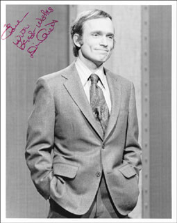 DICK CAVETT - AUTOGRAPHED INSCRIBED PHOTOGRAPH