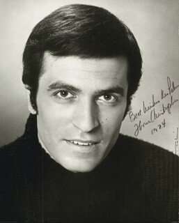 THOM CHRISTOPHER - AUTOGRAPHED INSCRIBED PHOTOGRAPH 1974