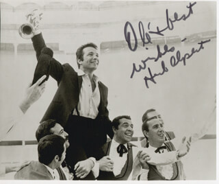 HERB ALPERT - AUTOGRAPHED SIGNED PHOTOGRAPH