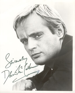 DAVID McCALLUM - AUTOGRAPHED SIGNED PHOTOGRAPH