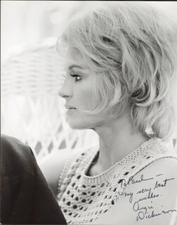 ANGIE DICKINSON - AUTOGRAPHED INSCRIBED PHOTOGRAPH