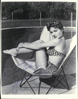 JEANNE CRAIN - AUTOGRAPHED INSCRIBED PHOTOGRAPH