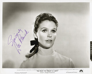 LEE REMICK - AUTOGRAPHED SIGNED PHOTOGRAPH