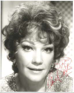ANNE BAXTER - AUTOGRAPHED INSCRIBED PHOTOGRAPH