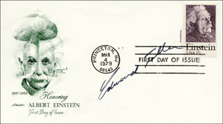 EDWARD TELLER - FIRST DAY COVER SIGNED