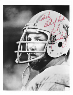 BOB KUECHENBERG - AUTOGRAPHED INSCRIBED PHOTOGRAPH