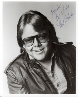 PAUL WILLIAMS - AUTOGRAPHED SIGNED PHOTOGRAPH